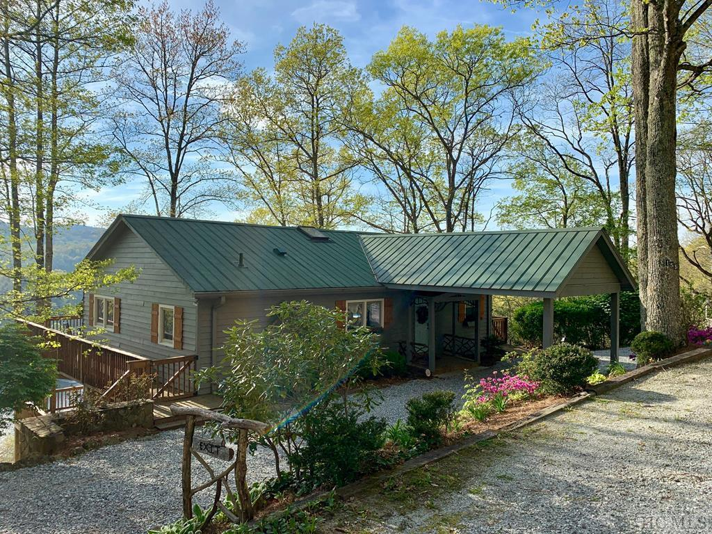 Photo of home for sale at 155 Jolly Hills Road, Cullowhee NC