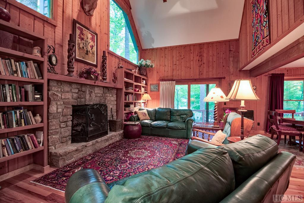 Photo of home for sale at 23 Tennis Court Drive, Cashiers NC