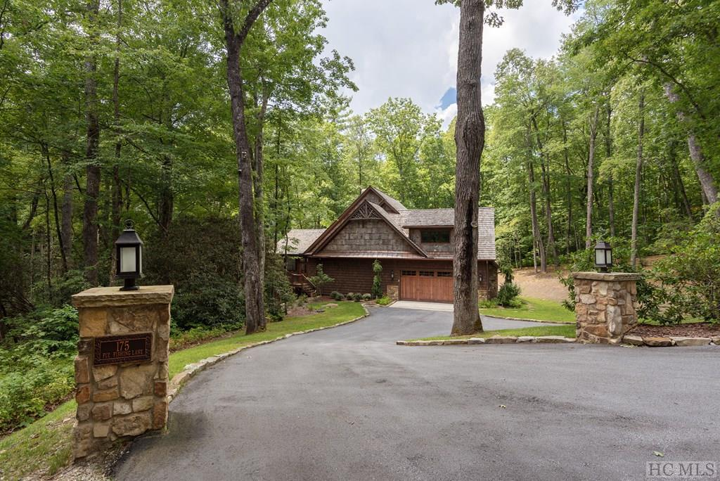 Photo of home for sale at 175 Fly Fishing Lane, Cashiers NC