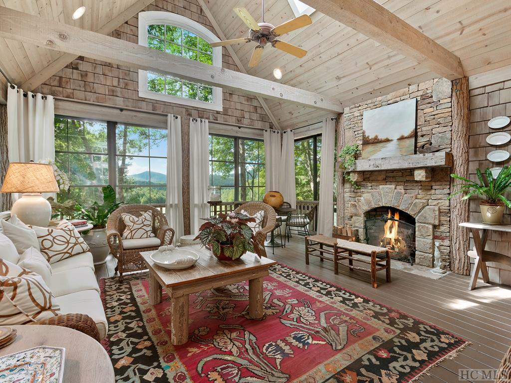 Photo of home for sale at 321 Wild Azalea Drive, Cashiers NC