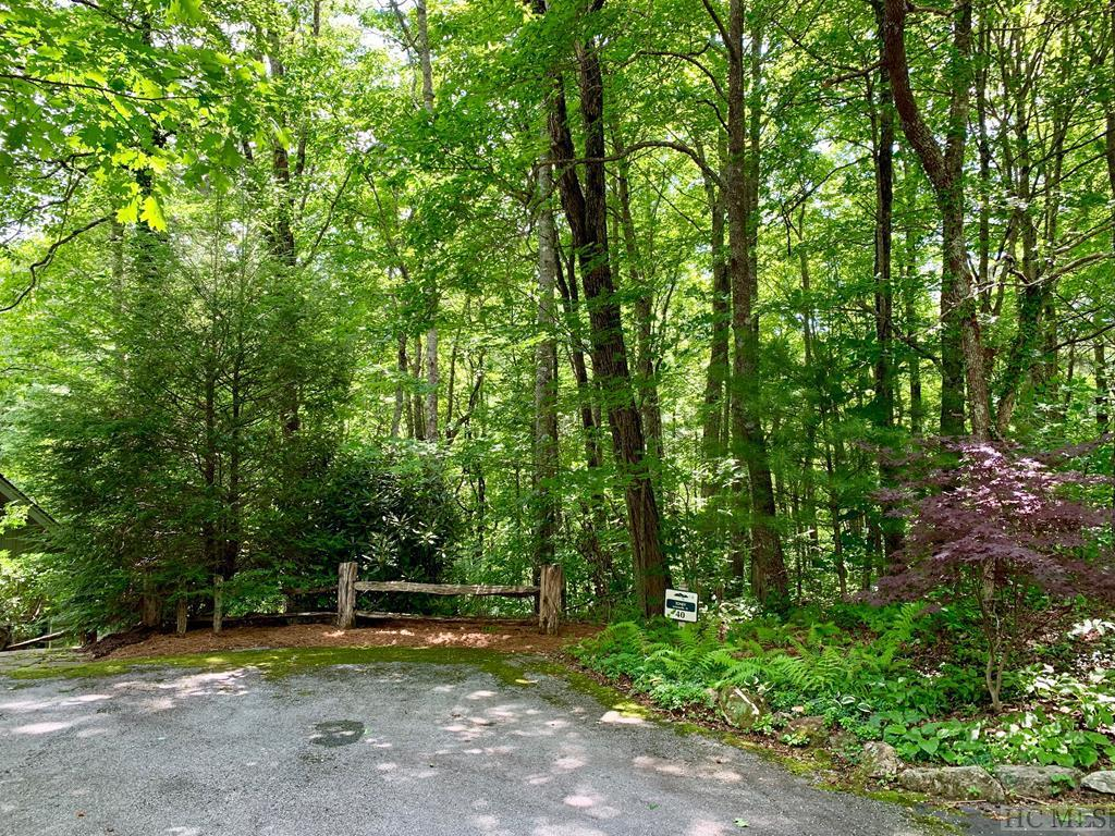 Photo of home for sale at Lot 40 Craggy Creek Point, Cashiers NC