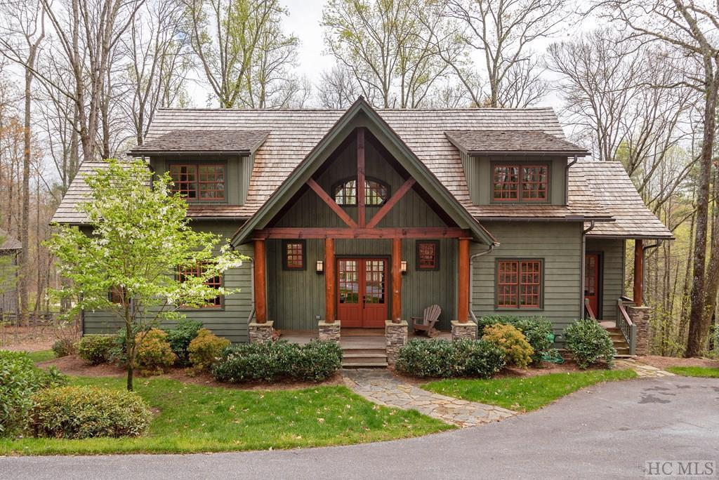 Photo of home for sale at 252 Audubon Trail, Cashiers NC