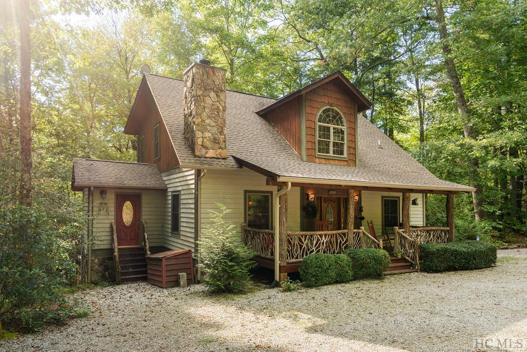 Photo of home for sale at 3484 Upper Whitewater Road, Sapphire NC