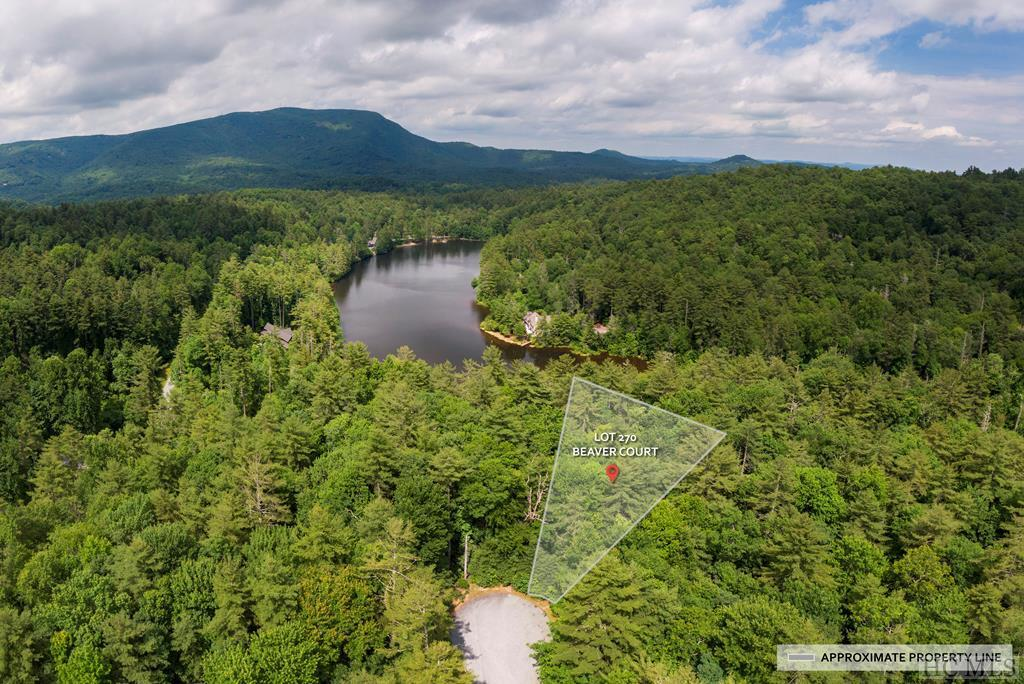 Photo of home for sale at Lot 270 Beaver Court, Sapphire NC