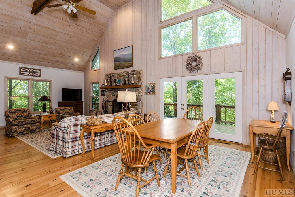 Photo of home for sale at 6 Rock Ledge Road, Sapphire NC