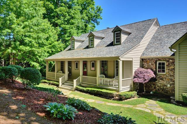 Photo of home for sale at 1159 West Rochester Drive, Cashiers NC
