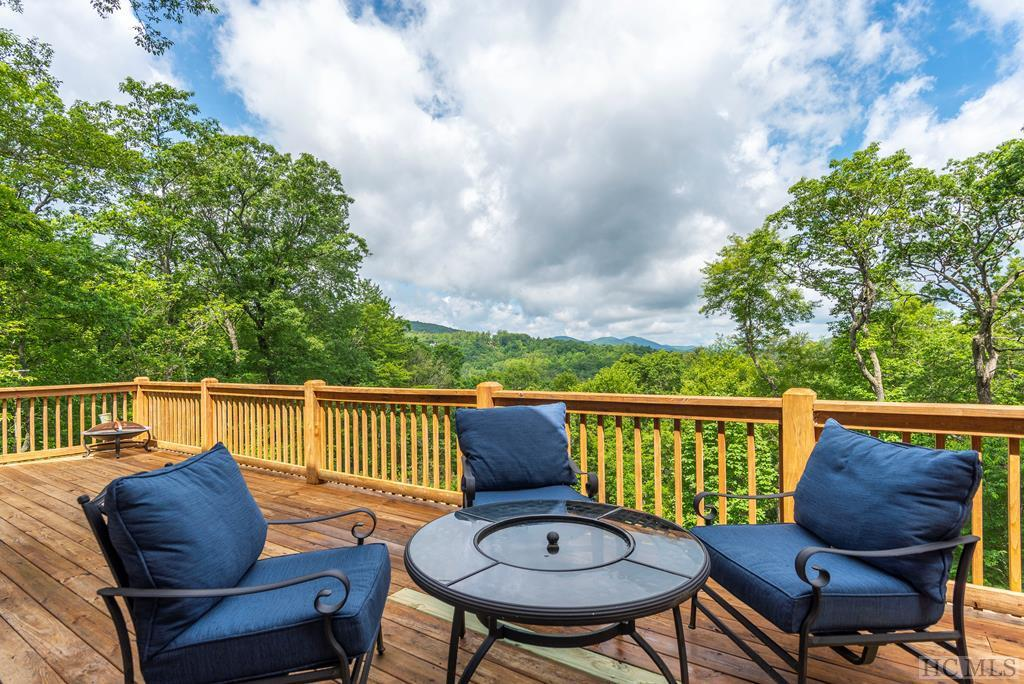 Photo of home for sale at 335 Mount Lori Drive, Highlands NC
