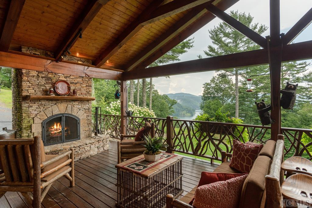Photo of home for sale at 304 Mountain Harbor Club Drive, Glenville NC