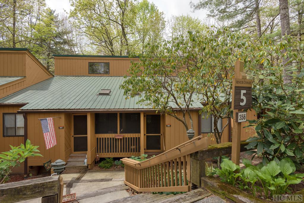 Photo of home for sale at 356 Meadow Way, Sapphire NC