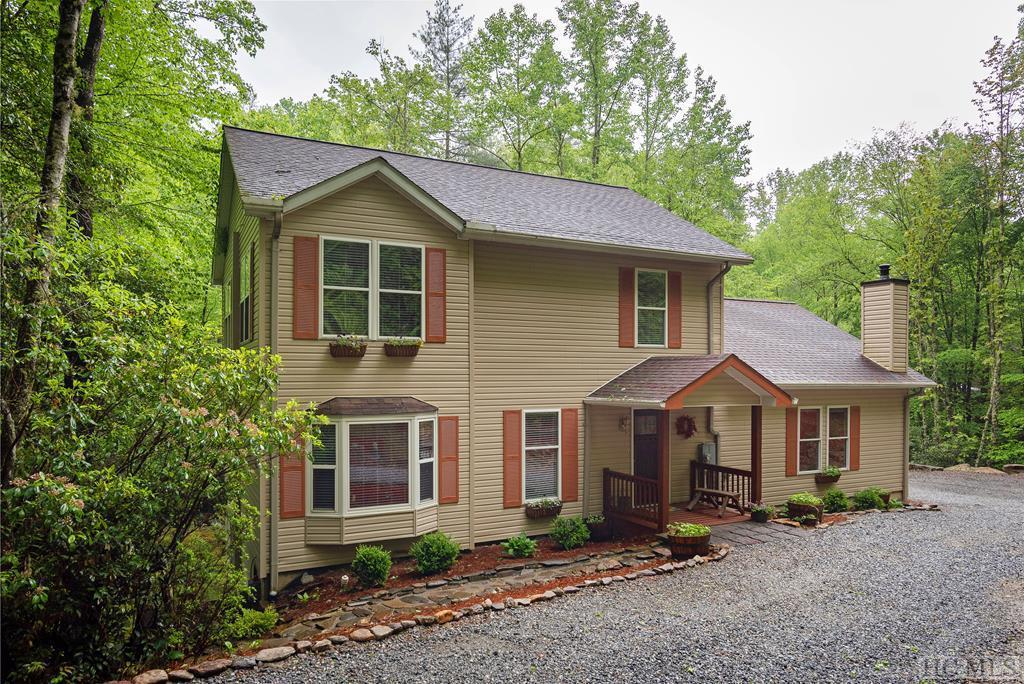 Photo of home for sale at 2374 West Christy Trail, Sapphire NC