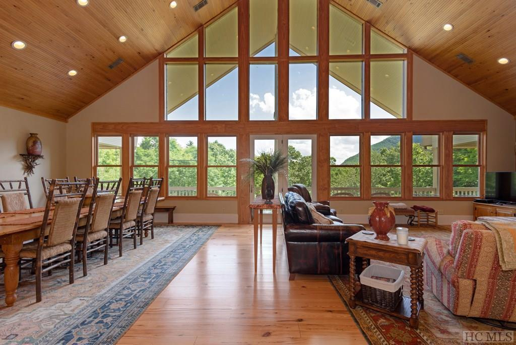 Photo of home for sale at 89 Tall Hickory Ridge Drive, Cashiers NC