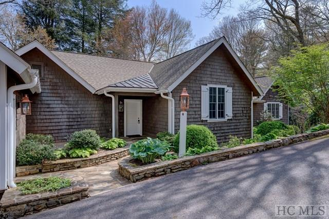 Photo of home for sale at 1250 Moorewood Road, Highlands NC