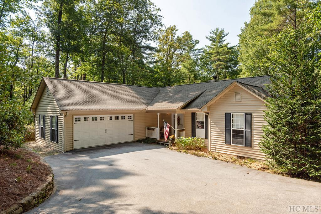 Photo of home for sale at 158 Rhododendron Court, Sapphire NC