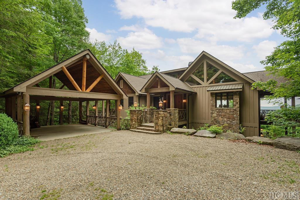 Photo of home for sale at 45 Spike Moss Road, Sapphire NC