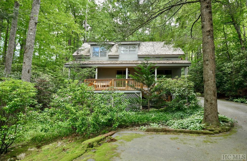 Photo of home for sale at 189 Racquet Club Drive, Cashiers NC