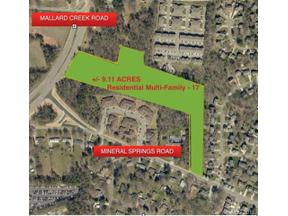 Property for sale at 1734 Mineral Springs Road, Charlotte,  North Carolina 28262