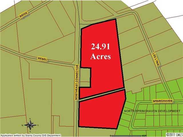Photo of home for sale at 24.9Ac Ne Connector None, Albemarle NC