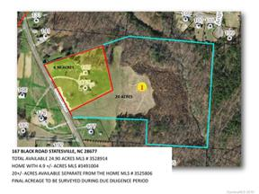 Property for sale at 000 Black Road, Statesville,  North Carolina 28677
