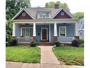 Property for sale at 1915 Lyndhurst Avenue, Charlotte,  North Carolina 28203