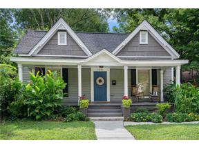 Property for sale at 1236 Pegram Street, Charlotte,  North Carolina 28205