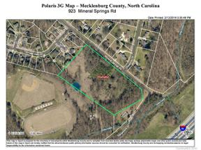 Property for sale at 923 Mineral Springs Road, Charlotte,  North Carolina 28262
