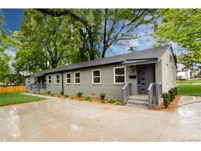 Property for sale at 1909 and 1917 Pegram Street, Charlotte,  North Carolina 28205