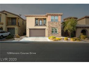 Property for sale at 128 Honors Course Drive, Las Vegas,  Nevada 89148