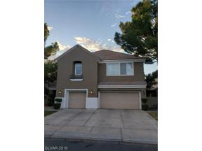 Property for sale at 1013 Windfair Village Street, Las Vegas,  Nevada 89107