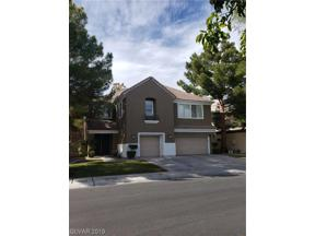 Property for sale at 1013 Windfair Village Street, Las Vegas,  Nevada 89107