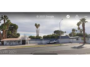 Property for sale at 1581 E Desert Inn Road, Las Vegas,  Nevada 89169