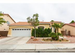 Property for sale at 2508 Wellworth Avenue, Henderson,  Nevada 89074