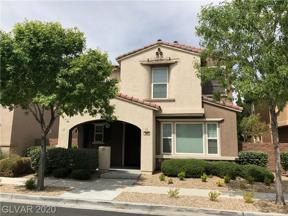 Property for sale at 1871 Via Delle Arti, Henderson,  Nevada 89044