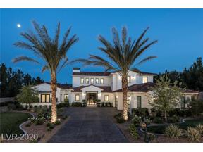 Property for sale at 36 OLYMPIA CANYON Way, Las Vegas,  Nevada 89141