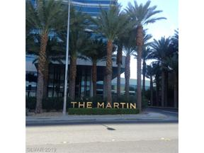 Property for sale at 4471 Dean Martin Drive Unit: 505, Las Vegas,  Nevada 89103