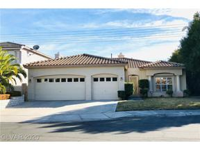 Property for sale at 2461 Tour Edition Drive, Henderson,  Nevada 89074