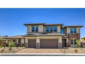 Property for sale at 3921 Valles Caldera Court Unit: LOT 2005, Las Vegas,  Nevada 89118