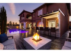 Property for sale at 480 Venticello Drive, Las Vegas,  Nevada 89138
