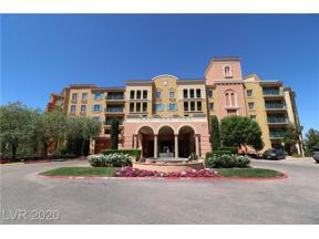 Property for sale at 30 Strada Di Villaggio 534, Henderson,  Nevada 89011