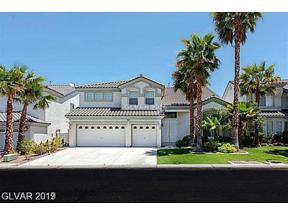 Property for sale at 192 Cascade Lake Street, Las Vegas,  Nevada 89148
