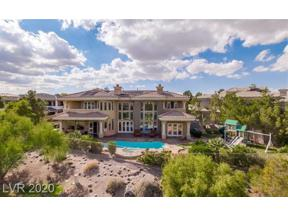 Property for sale at 4 BLOOMFIELD HILLS Drive, Henderson,  Nevada 89052
