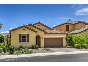 Property for sale at 217 Honors Course Drive, Las Vegas,  Nevada 89148