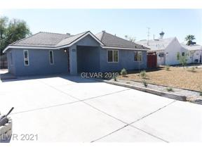 Property for sale at 1036 SWEENEY Avenue, Las Vegas,  Nevada 89104