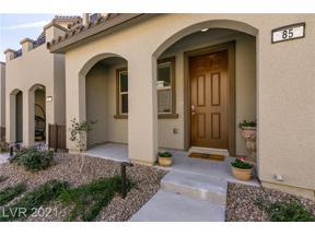 Property for sale at 85 Alamere Falls Drive, Las Vegas,  Nevada 89138