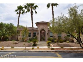 Property for sale at 9273 Tournament Canyon Drive, Las Vegas,  Nevada 89144