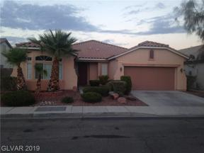 Property for sale at 2834 Gallant Hills Drive, Las Vegas,  Nevada 89135