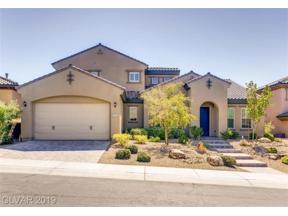 Property for sale at 2521 Chateau Napoleon Drive, Henderson,  Nevada 89044
