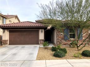 Property for sale at 860 Via Del Cerchi, Henderson,  Nevada 89011