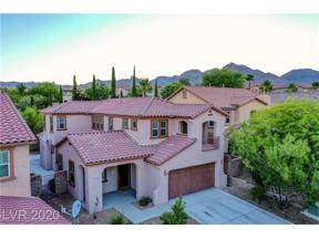 Property for sale at 625 Wandering Violets Way, Las Vegas,  Nevada 89138