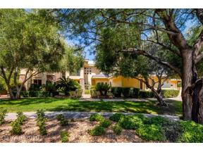 Property for sale at 605 Canyon Greens Drive, Las Vegas,  Nevada 89144