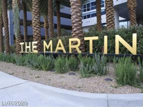 Property for sale at 4471 Dean Martin Drive Unit: 1104, Las Vegas,  Nevada 89103